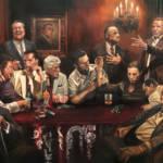 """""""Cosa Nostra"""" Canvas Print"""