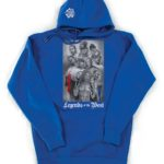"""""""LEGENDS OF THE WEST COAST"""" Hooded Pullover"""
